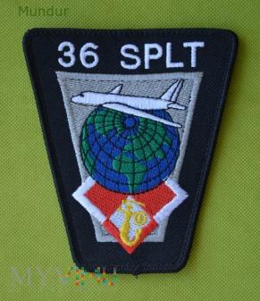 Oznaka 36.Specjalnego Pułku Lotnictwa Transport.