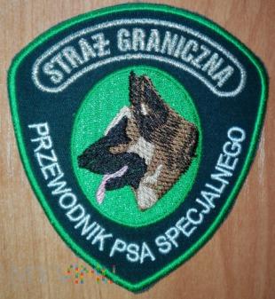 Przewodnik psa specjalnego SG