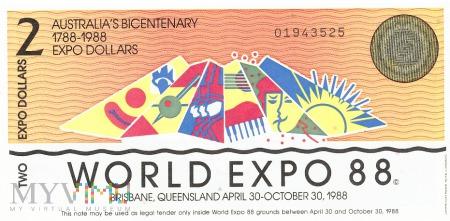 Australia (Expo '88) - 2 dolary (1988)