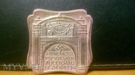 Targi rolnicze Zullichau odznaka