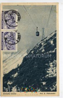 Mackiewicz - Kolejka na Kasprowy Wierch - 1950