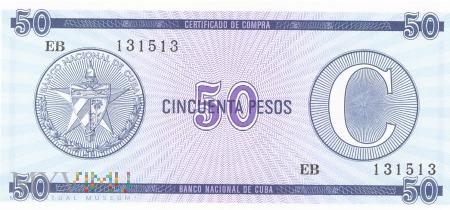 Kuba - 50 pesos (1985)