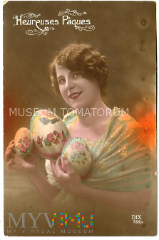 Wesołych Świąt Wielkanocnych 1917