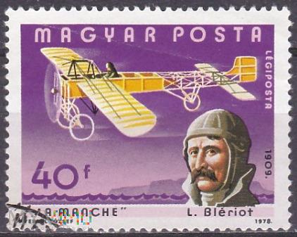 Louis Bleriot and La Manche