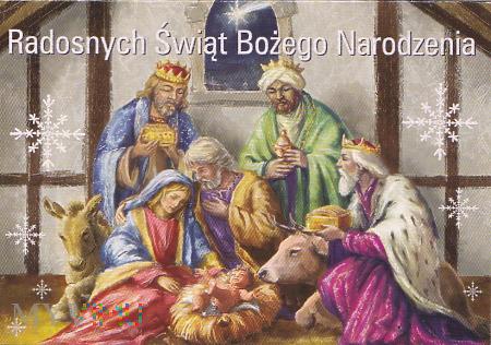 Duże zdjęcie Radosnych Świąt Bożego Narodzenia