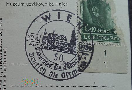 , Wien 50 Geburtstag des Führer