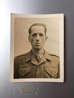 Żolnierz I Dywizji Pancernej Gen.S.Maczka