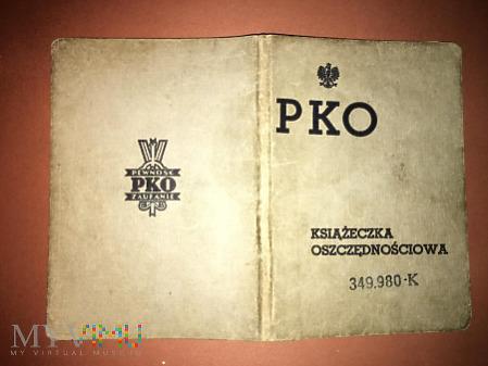 Książeczka PKO z 1938 roku