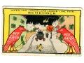 1907 Czerwony KRUK Reklama napój na kaca ;)