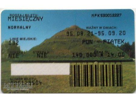 Bilet MPK Kraków 10