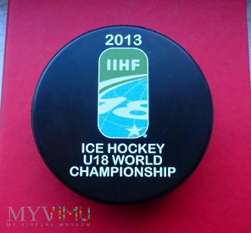 Krążek z mistrzostw świata U18 2013