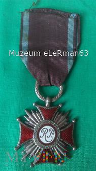 Srebrny Krzyż Zasługi.