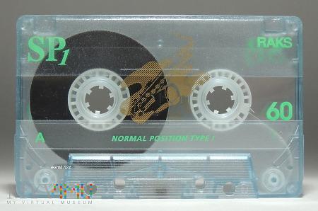 Duże zdjęcie RAKS SP1 60 kaseta magnetofonowa