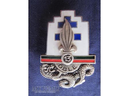 Escadron de reconnaissance de la 13 D.B.L.E.type 1