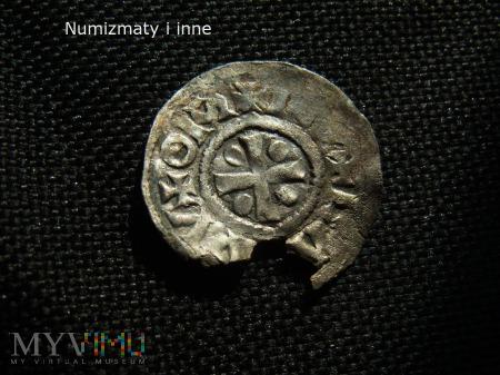 denar średniowieczny nieznany
