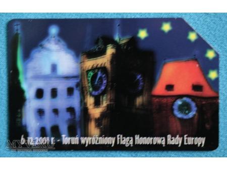 Toruń wyróżniony Flagą Honorową Rady Europy