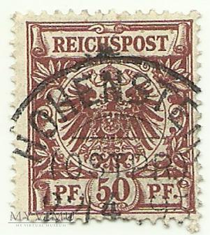 50 pfennig Hohenstein 1895 r.