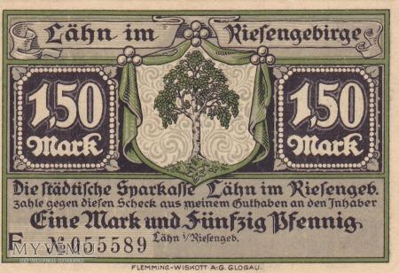 Notgeld Lahn 1,50 Mark