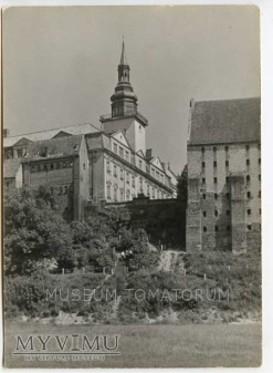 Duże zdjęcie Grudziądz 1960 - Ratusz od stron Wisły