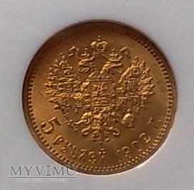 5 rubli 1902 r.