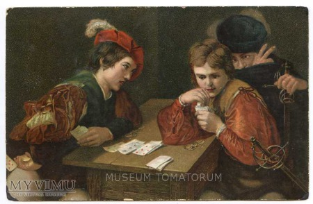 Caravaggio - Szuler karciany