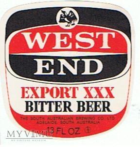 west end export xxx bitter beer