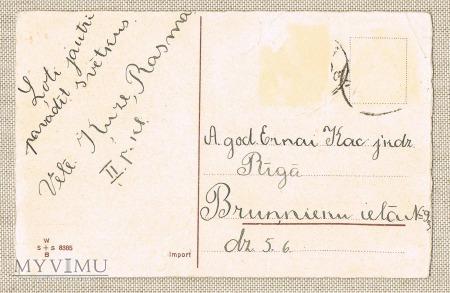 pocztówka - Dziadek do orzechów