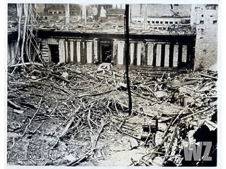1933. Spalony Reichstag