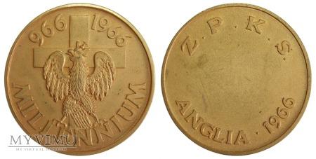 ZPKS Millennium medal 966-1966