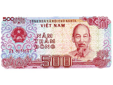 500 Dong 1988 r.