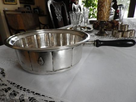 Herb Jastrzębiec- rondel srebrny