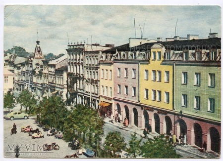 Wejherowo - Rynek strona północna - 1966