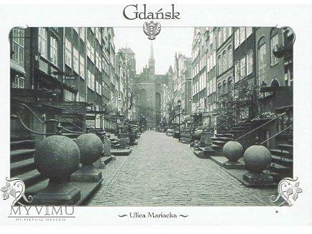 Duże zdjęcie Gdańsk - ulica Mariacka