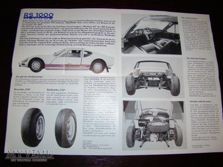 Prospekt Melkus RS1000