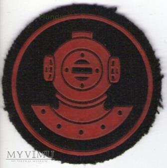 Oznaka specjalisty MW - nurek