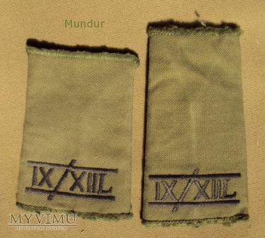 Wieka Brytania - oznaka stopnia: IX/XIIL