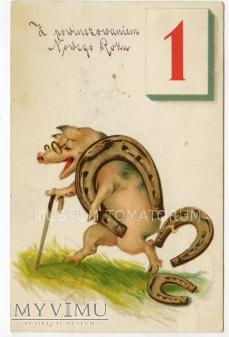 Świnka Noworoczna - 1926