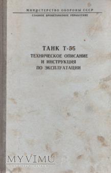 Czołg T-55. Instrukcja z 1983 r.