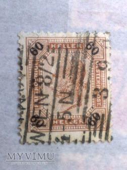Franz Joseph 1899 60 Halerz austro-węgierski