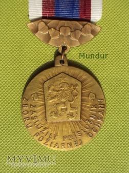 Medal: Za príkladnú prácu Požiarnej Ochrany