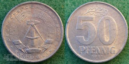 Niemcy, 50 PFENNIG 1982