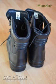 Buty wysokie na grubej podeszwie Służby Celnej