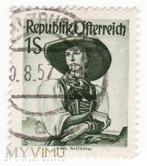 Austria REPUBLIK OSTERREICH 1951 1S