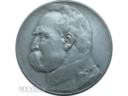 Duże zdjęcie 5 Zlotych, Józef Piłsudski, 1936 rok.