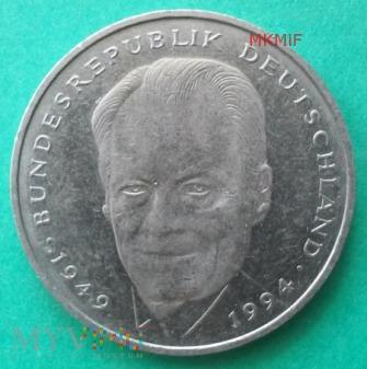 2 marki Niemcy 1994