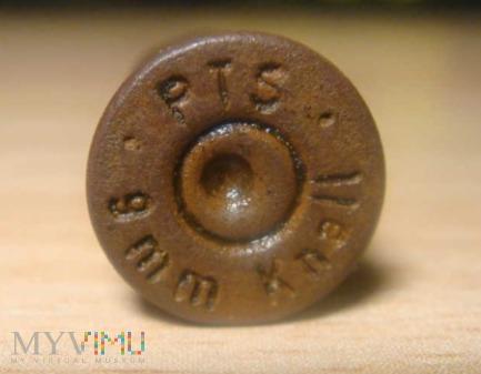 łuska - pistolet hukowy 9mm knall