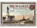 Zobacz kolekcję Postcard Folio- Greetings Milwauke wisconsin.  1910 - 1920