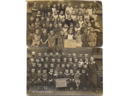 Duże zdjęcie Uczniowie szkoły w Brzezinach Śl.