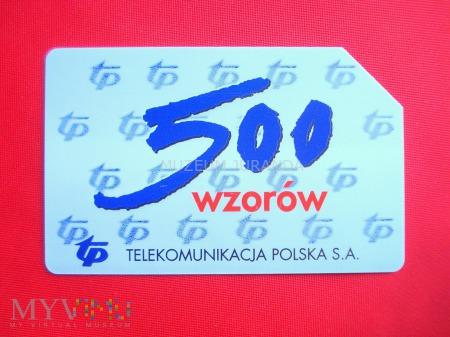 Karta magnetyczna 500