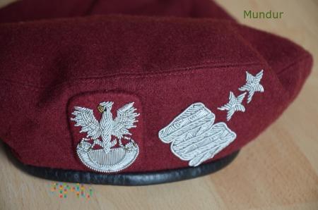 Beret wojsk powietrznodesantowych - gen. dyw.